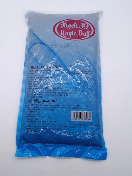 Trân Châu Magic Ball caramel - Bịch 2kg