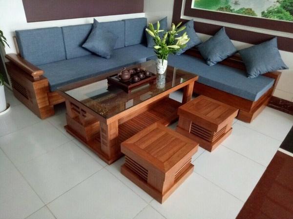 Sofa gỗ 02