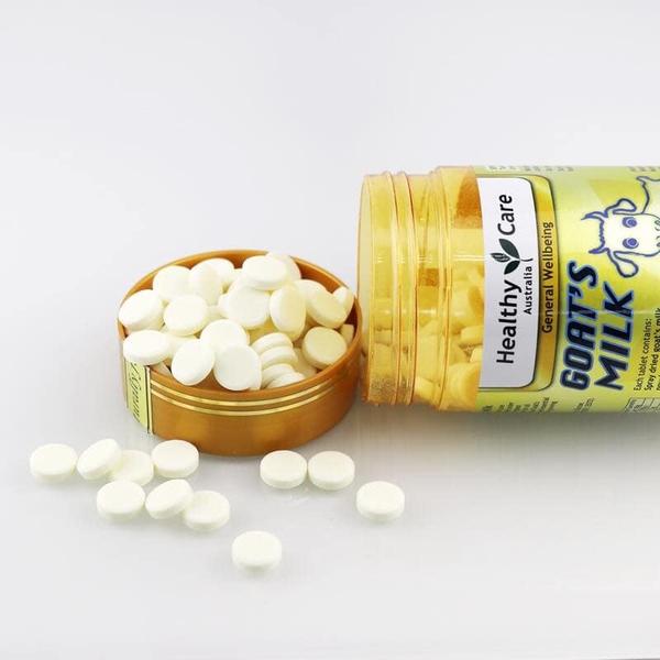 Image result for Kẹo sữa dê Healthy Care Goat Milk Vanilla 300 viên