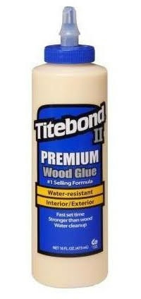 Keo dán gỗ TiteBond II premium wood glue 16oz/473 ml