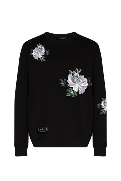 Simple Floral Sweater