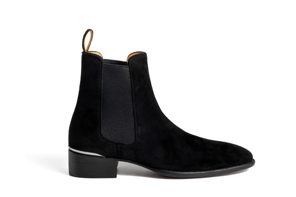 Signature Brown Heel Chelsea Boots