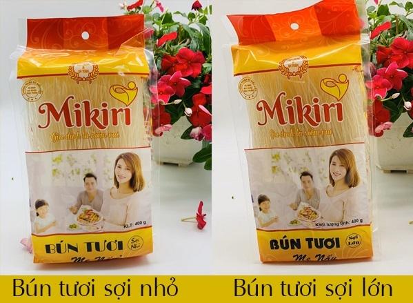Bún gạo Mikiri - Bún tươi dạng khô tiện dụng