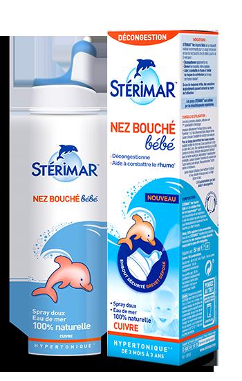 Xịt muối biển Sterimar kháng viêm Pháp