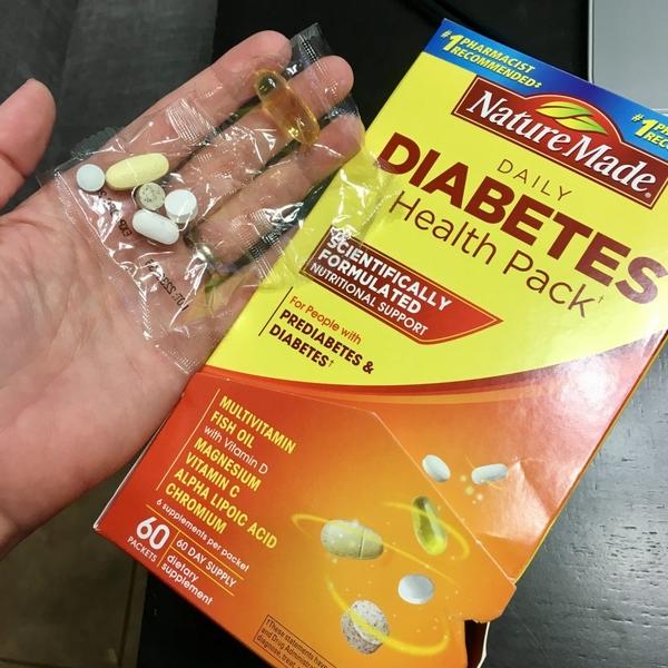 Viên uống cho bệnh nhân tiểu đường Daily Diabetes Health Pack 60 ...