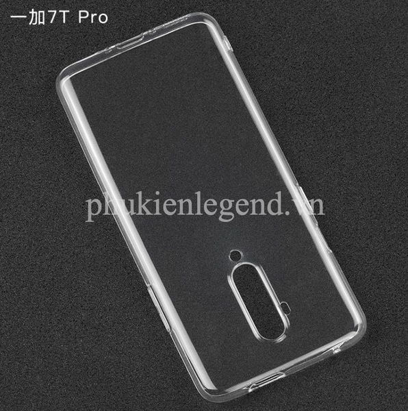 Ốp lưng silicon dẻo trong suốt OnePlus 7T Pro siêu mỏng 0.6mm
