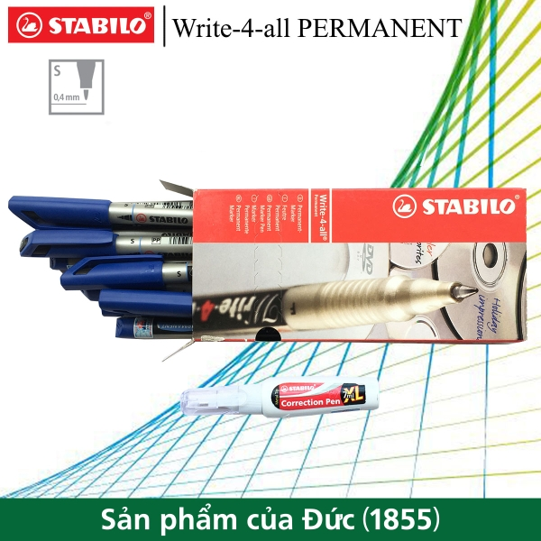 hop-10-but-ky-thuat-stabilo-write-4-all-permanent-s-0-5mm-but-xoa-stabilo-cps88-