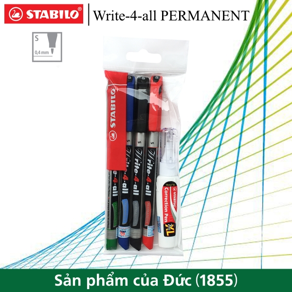 bo-4-but-ky-thuat-stabilo-write-4-all-permanent-s-0-5mm-but-xoa-stabilo-cps88-ap