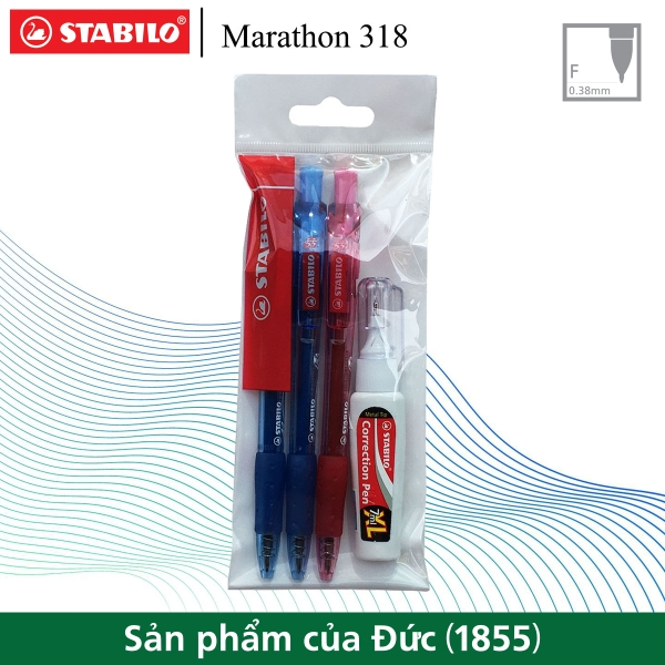 bo-3-cay-but-bi-stabilo-marathon-318f-2-xanh-1-do-but-xoa-correction-pen-cps88-b