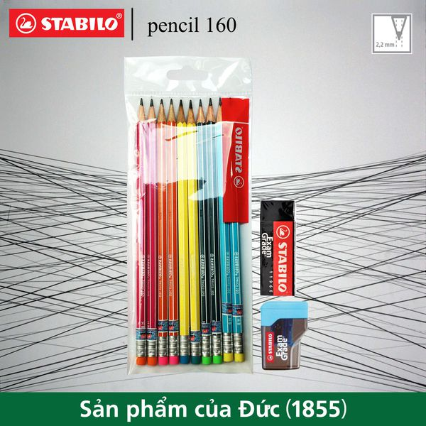 bo-10-cay-but-chi-go-stabilo-pencil-160-hb-5-mau-x-2-tay-examgrade-er196e-chuot-