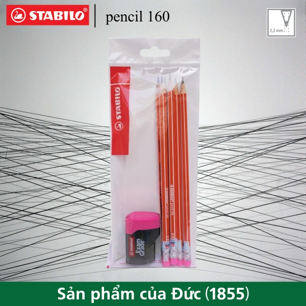 bo-6-cay-but-chi-go-stabilo-pencil-160-co-gom-cam-chuot-examgrade-4538c-hong