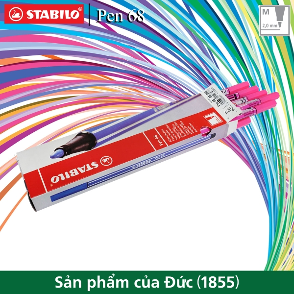 hop-10-but-long-stabilo-pen-68-1-0mm-hong-da-quang-pn68-10-056
