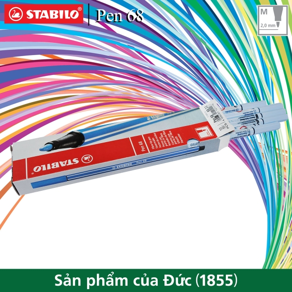 hop-10-but-long-stabilo-pen-68-1-0mm-xanh-phan-pn68-10-11