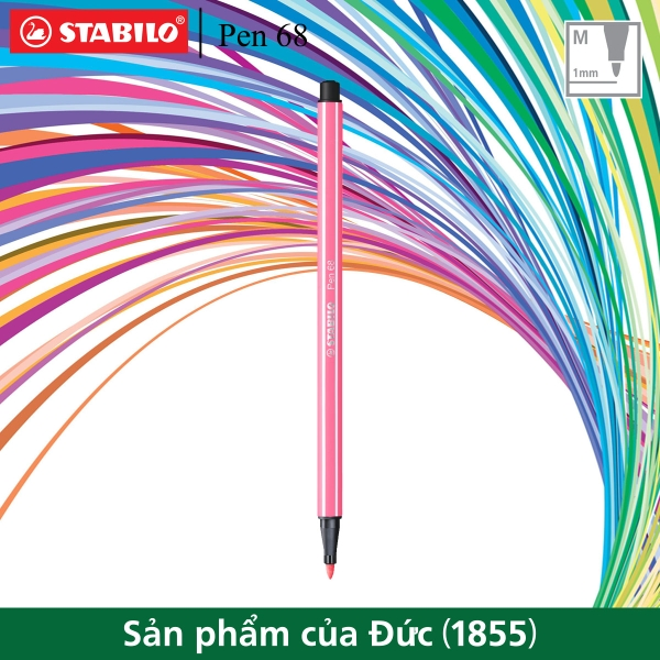 but-long-mau-stabilo-pen68-1-0mm-hong-nhat-pn68-29