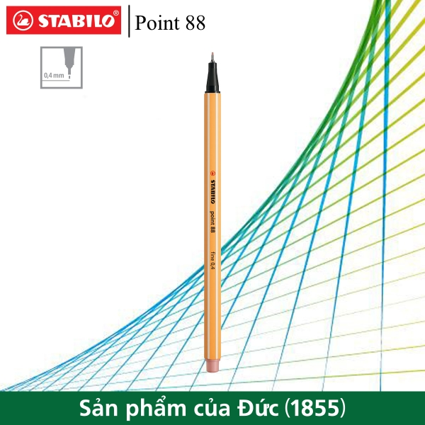 but-kim-stabilo-point-88-0-4mm-mau-do-hong-phan-pt88-28