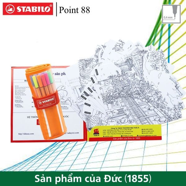 bo-1-cuon-but-long-kim-stabilo-point-88-fine-0-4mm-30-cay-cuon-vai-tuyen-tap-to-