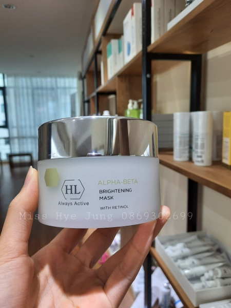 Mặt nạ làm sán da HL Brightening mask with Retinol 250ml