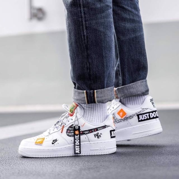 [AO3977-100] K NIKE AIR FORCE 1 PRM '' JDI PACK ''