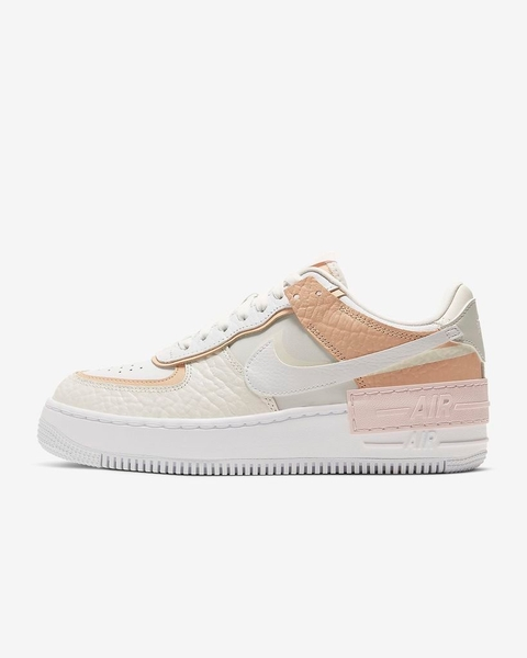 [CK3172-002] W NIKE AIR FORCE 1 SHADOW SE SPRUCE AURA
