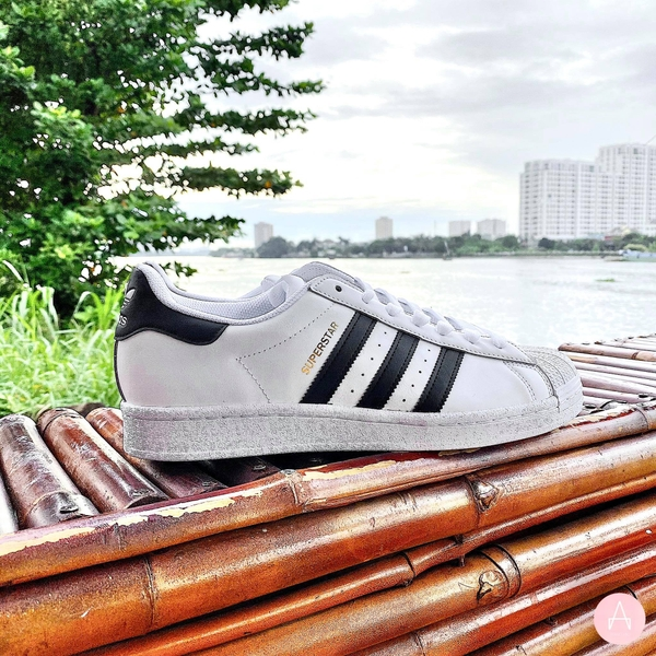 [EG4958] M ADIDAS SUPERSTAR CLOUD WHITE/CORE BLACK
