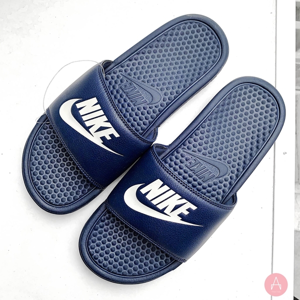 [343880-403] M NIKE BENASSI JDI MIDNIGHT NAVY