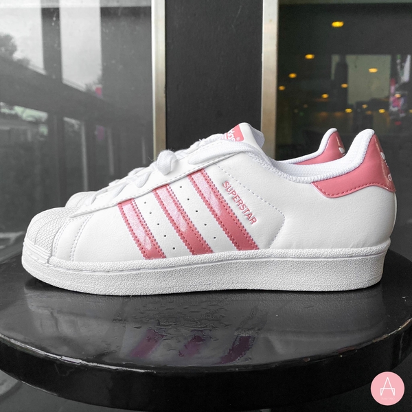 [BC0588] K ADIDAS SUPERSTAR WHITE PINK
