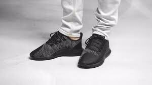 [BB8823] M ADIDAS TUBULAR SHADOW ALL BLACK LEATHER