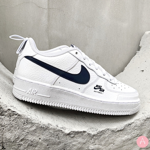 [CZ4203-101] K NIKE AIR FORCE 1 LOW SE WHITE GREY OBSIDIAN