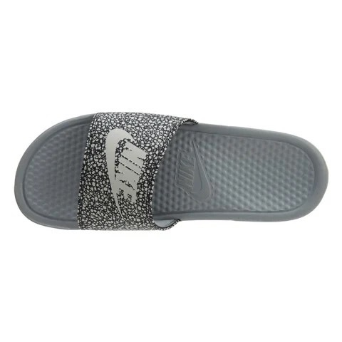 [631261-008] M NIKE BENASSI JDI DOT WHITE GREY