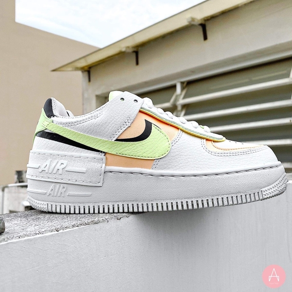 [CI0919-107] W NIKE AIR FORCE 1 SHADOW 'WHITE CRIMSON TINT' WHITE/MINT/PINK