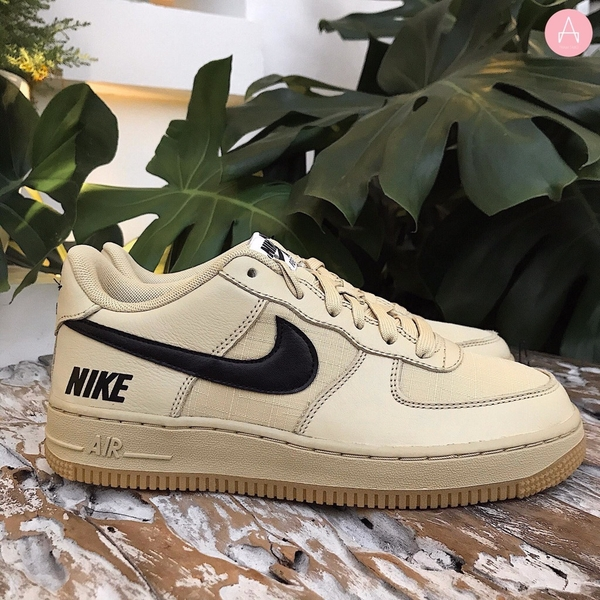 [CQ4215-700] K NIKE AIR FORCE 1 WATERPROOF TAN