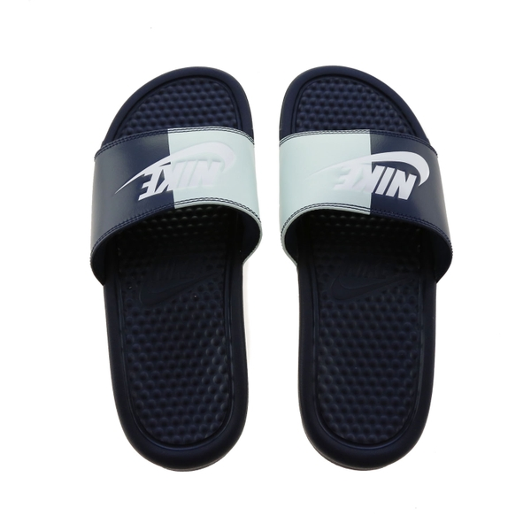 [343881-406] W NIKE BENASSI JDI ROYAL BLUE BLACK