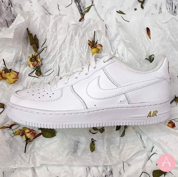 [314192-178] K NIKE AIR FORCE 1 CREST LOGO