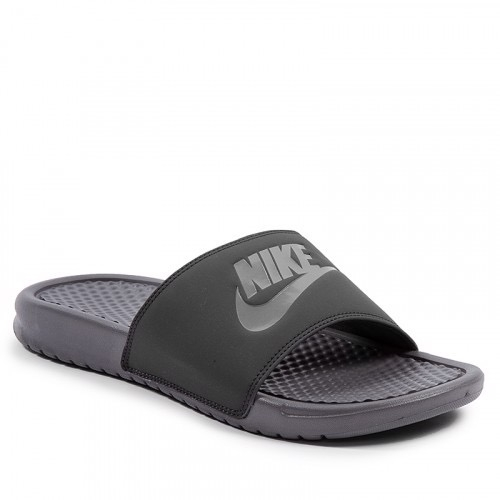 [343880-025] M NIKE BENASSI JDI GUN SMOKE OIL GREY