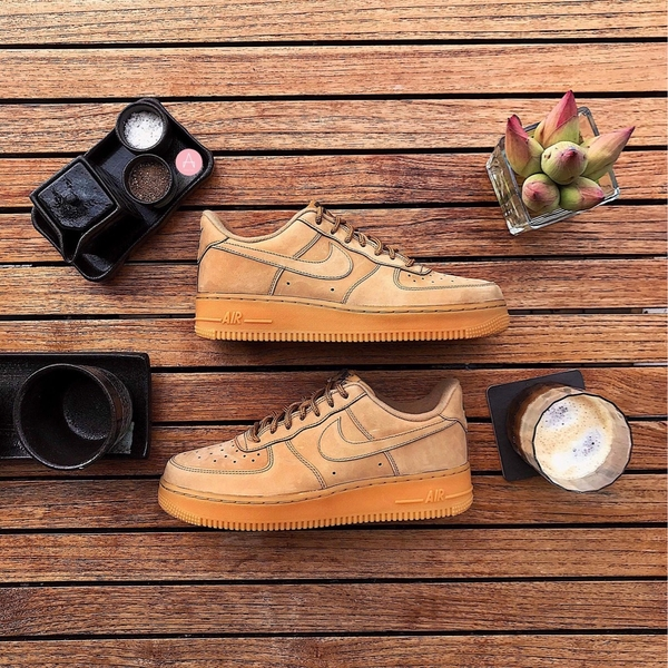[AA4061-200] M NIKE AIR FORCE 1 '07 LOW FLAX WHEAT