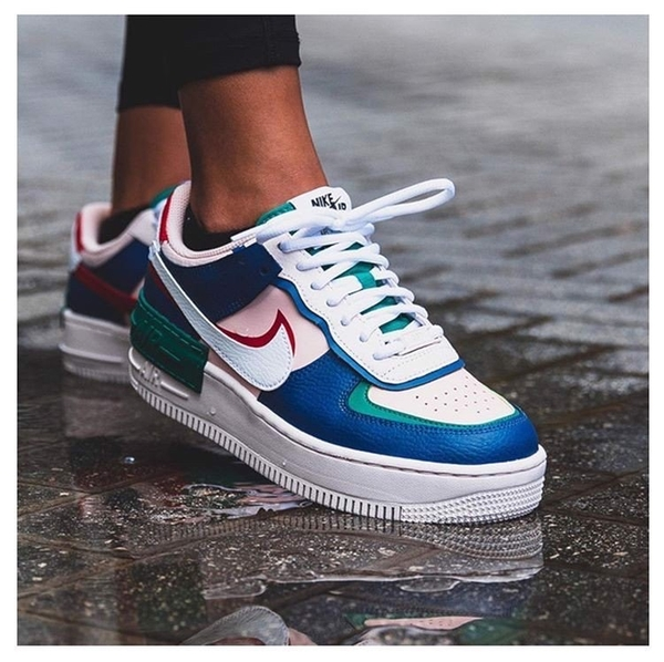 [CI0919-400] W NIKE AIR FORCE 1 SHADOW MYSTIC NAVY