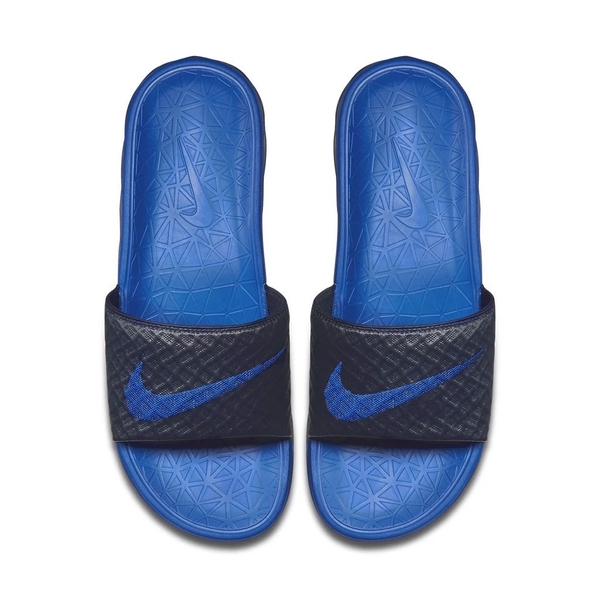 [705474-440] M NIKE BENASSI SOLARSOFT NAVY BLACK