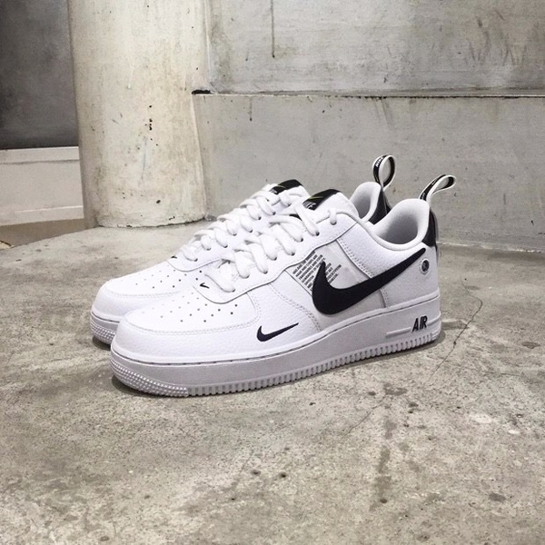 [AJ7747-100] M NIKE AIR FORCE 1 UTILITY WHITE