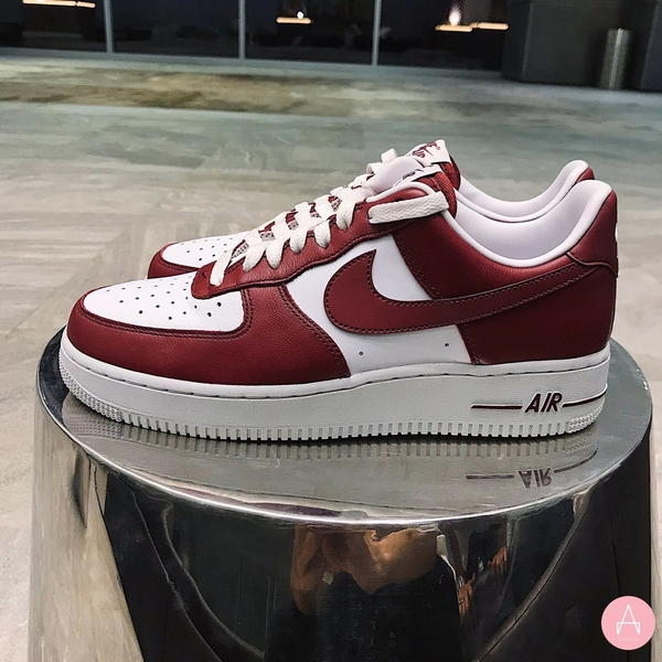 [AQ4134-600] M NIKE AIR FORCE 1 WHITE RED