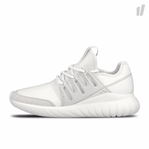 [AQ6722] M ADIDAS TUBULAR RADIAL ALL WHITE