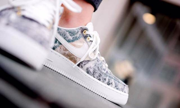 [AO1017-100] W NIKE AIR FORCE 1 BUMMIT WHITE