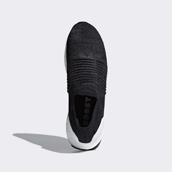 [BB6140] M ADIDAS ULTRABOOST LACELESS BLACK WHITE