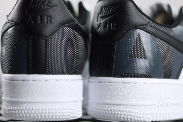 [AV8363-100] M NIKE AIR FORCE 1 PREMIUM WHITE BLACK PATCH