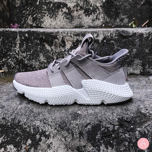 [B37451] M ADIDAS PROPHERE CRYSTAL GREY WHITE