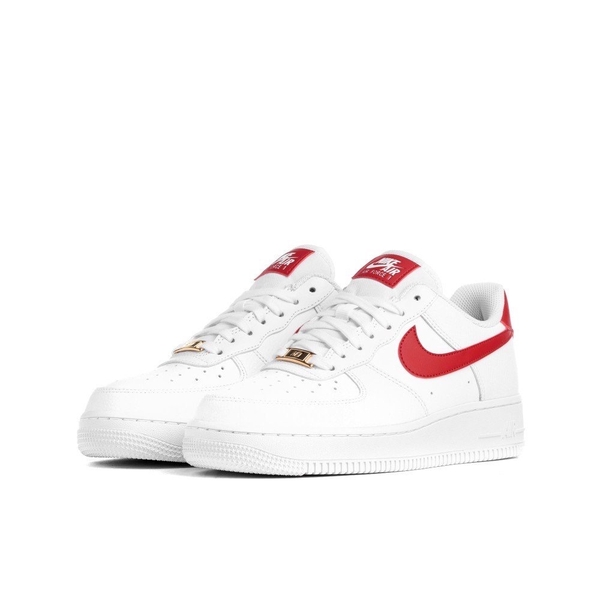 [AH0287-110] W NIKE AIR FORCE 1 WHITE RED