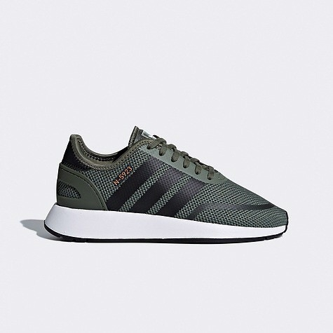 [B37146] K ADIDAS N-5923 BASE GREEN WHITE