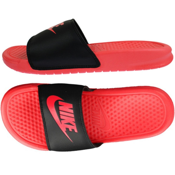 [343881-606] W NIKE BENASSI JDI BLACK RED