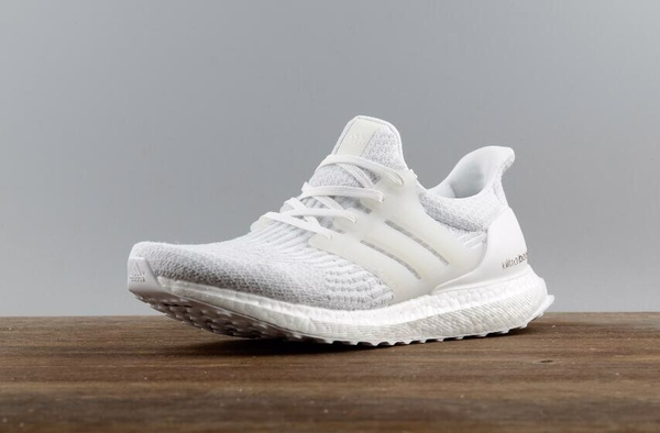 [BA8841] M ADIDAS ULTRABOOST 3.0 ALL WHITE