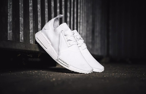 [BZ0221] M ADIDAS NMD R1 WHITE '' JAPAN BOOST ''