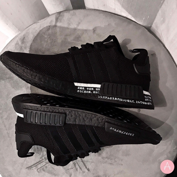 [BD7754] M ADIDAS NMD R1 V2 JAPAN BLACK WHITE